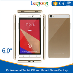 Cheapest China 6 inch Big Screen OEM 3G smartphone android Shenzhen mobile phone cellphone