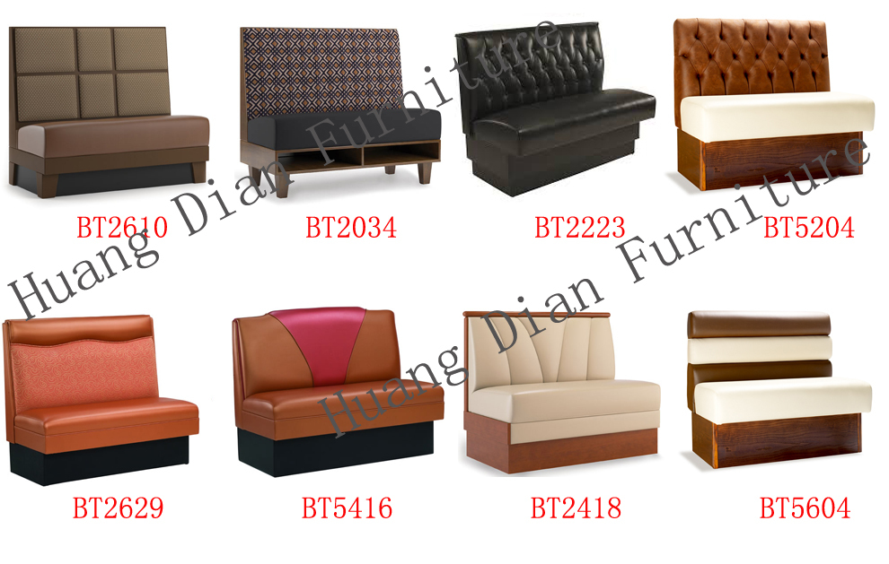 Modern Restaurant Furniture Booth Seating