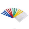 Eo-friendly custom printed clear PVC plastic bags with zipper