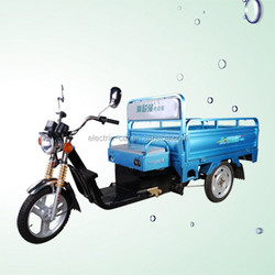 3 wheel electric tricycle with cabin for cargo