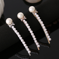 cute hair accessories zircon hair clips with stones