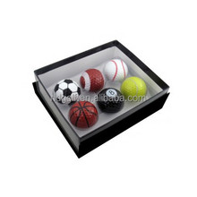 Funny Sports golf ball soccer ball ,basket ball