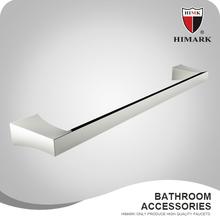 Chrome plated brass bathroom single towel bar