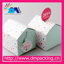 lovely small house shape gift box for candy