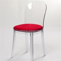 Creative bottom price acrylic chair for wholesaler