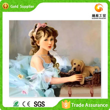 Manufacturer Supply Room Wall Painting Wholesale Diy Beautiful Girl Sex With Animal Photos
