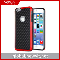 Newvit Back cover 2 case for iPhone 6 plus / mobile phone case / Durable materials TPU + PC