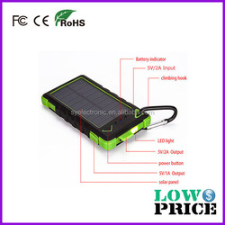 2015 Waterproof and dustproof Solar mobile charger 80000Mah for outdoor sports