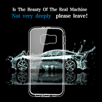OEM factory price clear TPU case for samsung galaxy note 5 for galaxy S6 case