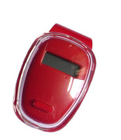 S01083 YGH656 LCD Display Red Digital Sport Pedometer Step Distance Counter Walking Run Motion Fitness Tracker
