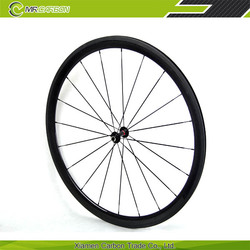 full carbon fiber road bike wheel customized 38mm front and 50mm rear carbon wheelset clincher