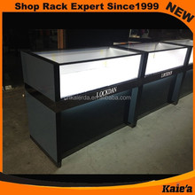 Retail Glass watch display counter (KM-86)