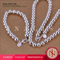 Níquel Atacado latão barato livre africano pérolas conjunto de jóias S081