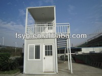 low cost prefab 20ft container house