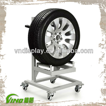 Factory Good Quality Alloy Wheel Display /Tire Display Stand /Tyre Display Rack