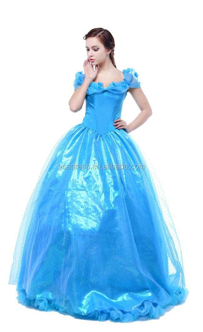 Little Queen Lovely Baby Little Girls Bridal Gowns Royal Blue ...