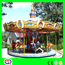 china wholesale high quality colorful carousel models small carousels for sale