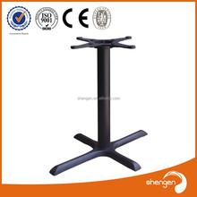 HD071 crossed vintage furniture iron table legs