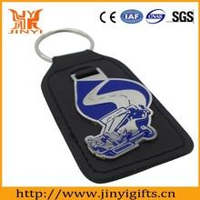 Wholesale custom made leather keychains