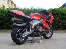 cool four wheels 49cc 2-stroke engine pocket bike