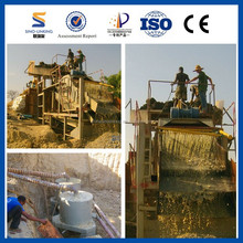 Washing Equipment Alluvial Gold Mining Methods from China Manufacturer