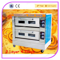 Economy 2 Layer 4 Trays Deck Baking Oven/ Cake Oven