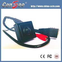 40x40mm Hidden 2 Megapixel Network1080p Serial Jpeg Mini Camera