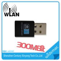 300Mbps Realtek RTL8192 Chipset 2T2R Mini WiFi USB Adapter/ Wireless Lan Card WiFi Dongle
