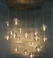led glass hanging ball chandelier with G9 Light Source and Neutral Color item:908