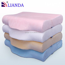 Size Custom Orthopedic Butterfly Neck Massage Memory Foam Pillow