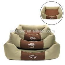 Súper ventas de productos para perro fabricante artículo Luxary cama del perro con cálido Cusion
