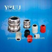 IP68 PG/Metric/MG thread of nylon and metal cable gland