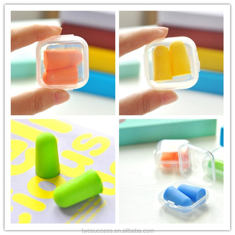 OEM cheap disposable bulk soundproof foam earplug without cord .jpg