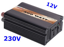 300W Power Inverter Pure Sine Wave DC 12V AC 230V solar/wind/car/battery invertor free shipping