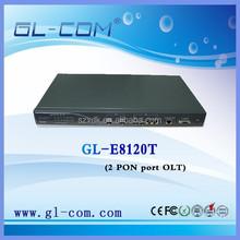 Optical network 1U 2 PON port FTTX/FTTH/FTTO EPON OLT