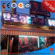 Amusement attractive 9d cinema home theater seats for shopping buyers