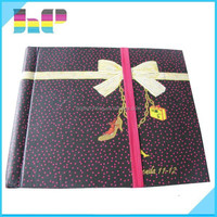 colored printed hardcover notebook saddle stitching book printing,promotional personalized design publishing