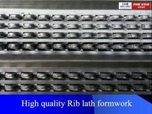 Alibaba China galvanized high ribbed formwork/rib lath/Rib/building material prices china