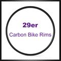pcs 1 29er x en bicicleta de montaña de fibra de carbono llantas clincher con 3k superficie