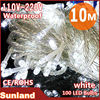 High quality Waterproof christmas led string white light
