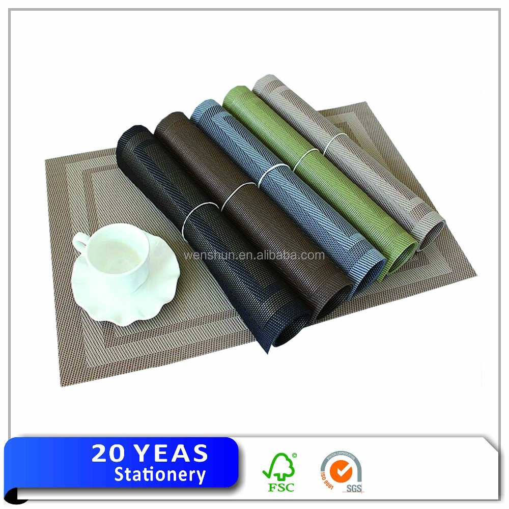 Non Slip Durable Dining Table Mat/under Table Plate Mat ...