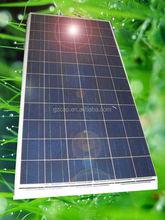 poly solar panel 150w 160w 180w 200w 250w for home use
