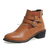2015 customized newest lady ankle boots italian winter boots