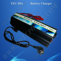 Three stage chargeing mode car battery charger 12volt 50A