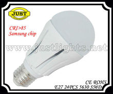 high quality factory cost CRI>85 9W Sumsung LED BULB