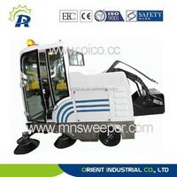 E800LD wet industrial floor sweeper Electric floor sweeper electric tile cleaner