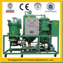 Double Control System Energy Saving Pure Physical waste cooking oil filtration machine
