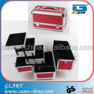 Wholesaler aluminum makeup case