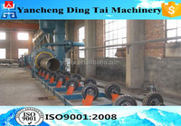 Good quality steel pipe outer wall shot blasting machine
