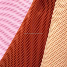 3d air spacer breathable polyester sandwich mesh fabric,2-3mm thickness